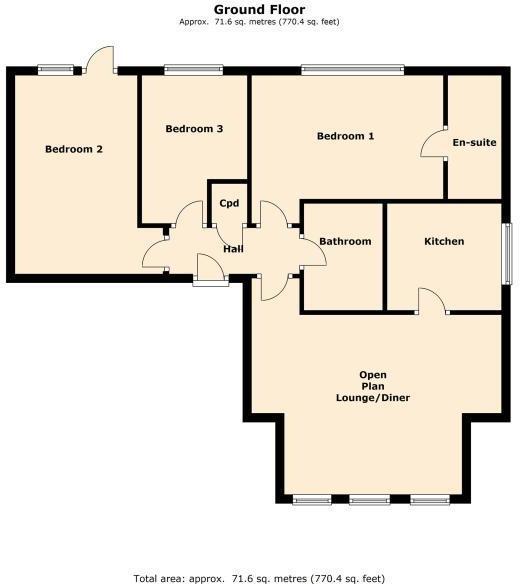 Apartment 2, 18 St G