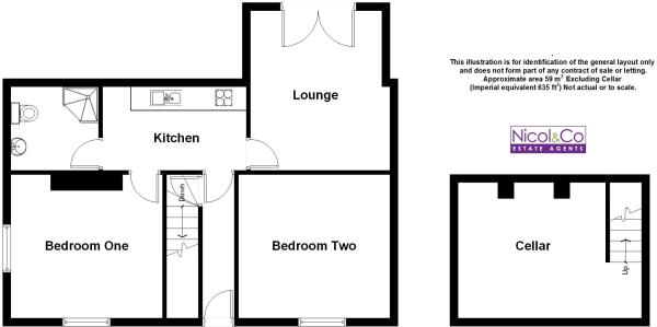 Floorplan Flat 1 46