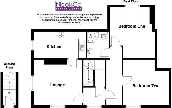 Floorplan Flat 2 46
