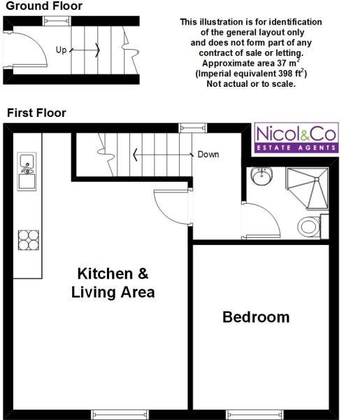 Floorplan Flat 3 46