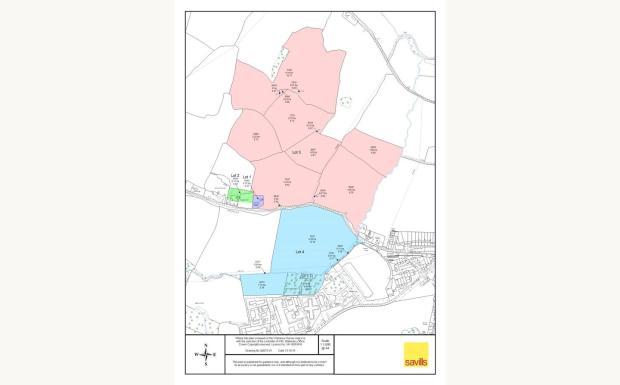 Lot 3 - Falfield Map