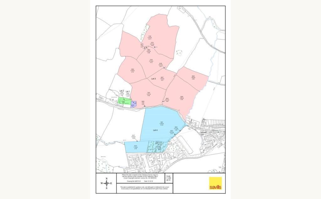 Lot 4 - Falfield Map