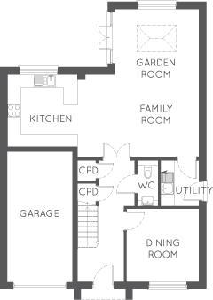 The Johnstone, Ground Floor