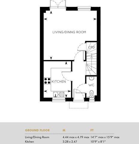 The Fyfield, Ground Floor