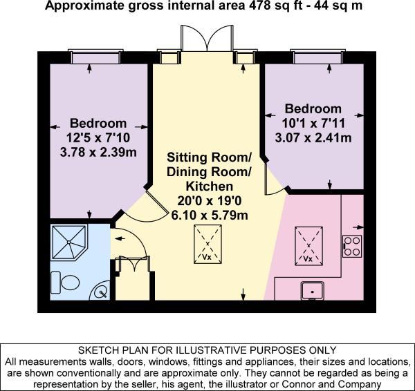 Floor plan - Annexe