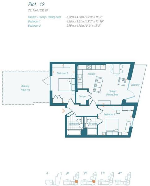 Plot 12 - Floorplan.
