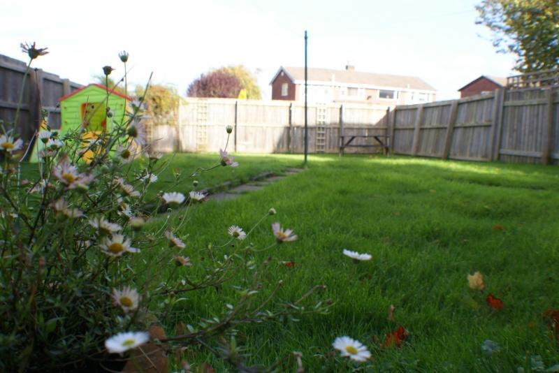 Generous Private Rear Garden
