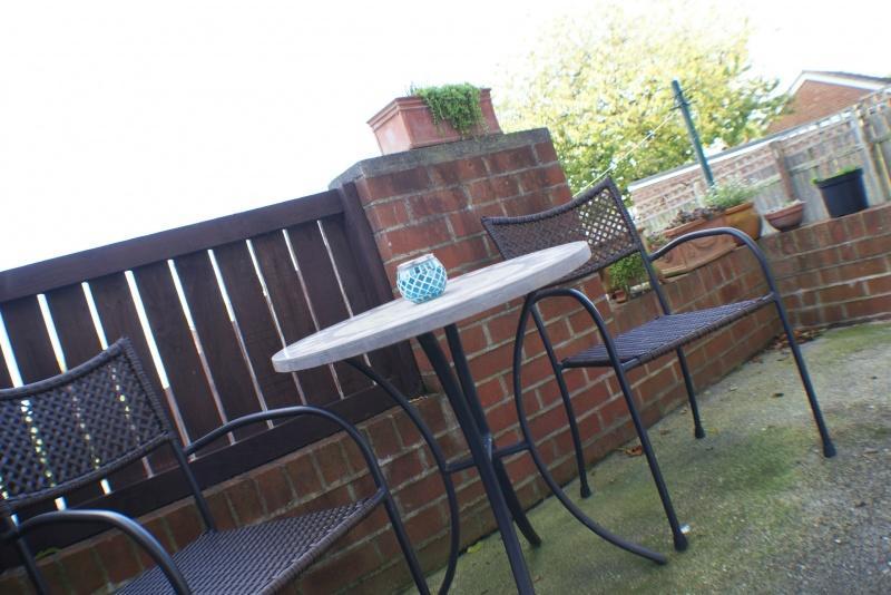 Rear Garden Patio Terrace