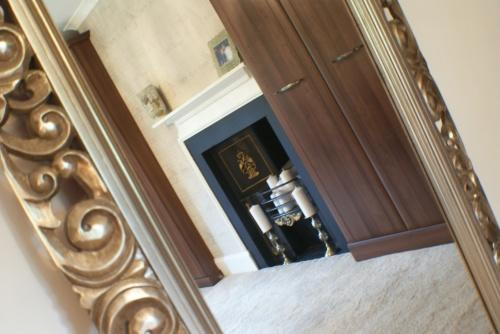 Master Bedroom Ornate Fireplace