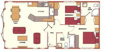 2 bedroom bungalow for sale in burton waters lodges for Lodge plans with 12 bedrooms