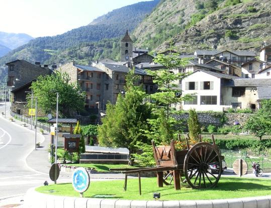 Ordino parish town