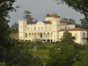 Castle in EUGENIE LES BAINS...