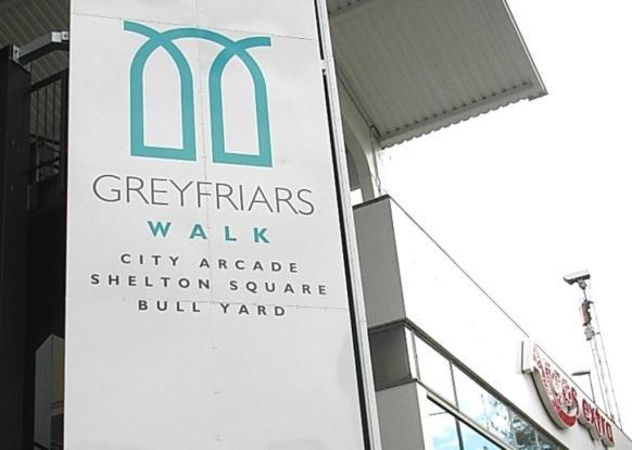 Greyfriards Walk