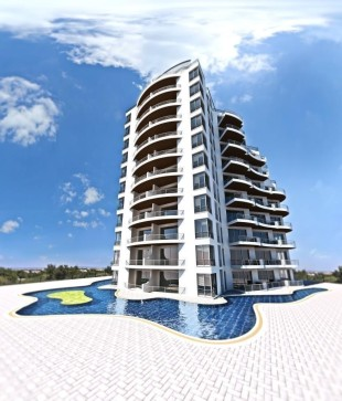 1 bed new Apartment for sale in Girne...