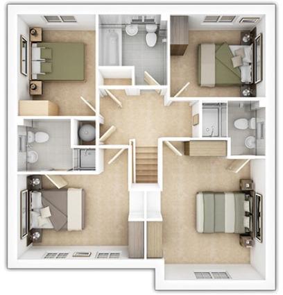 Eynsham First Floor Plan