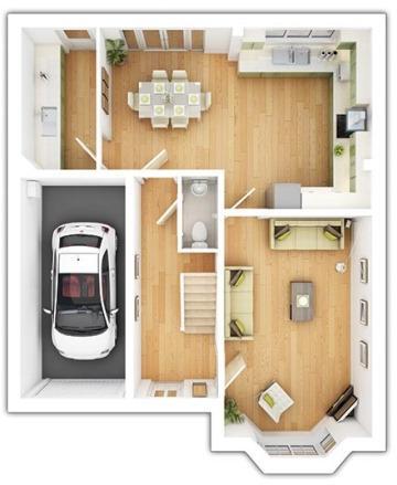 Haddenham Ground Floor Plan