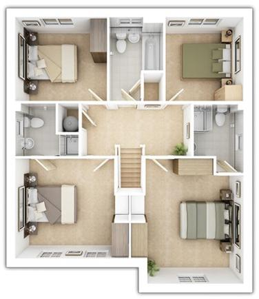 Haddenham - First Floor Plan