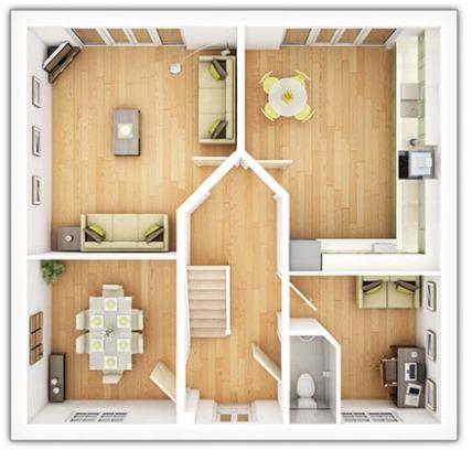 Tarvin Ground Floor Plan