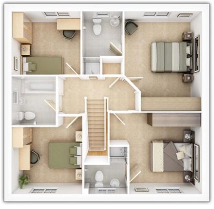 Tarvin First Floor Plan