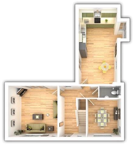 The Langdale - 4 bedroom ground floor plan