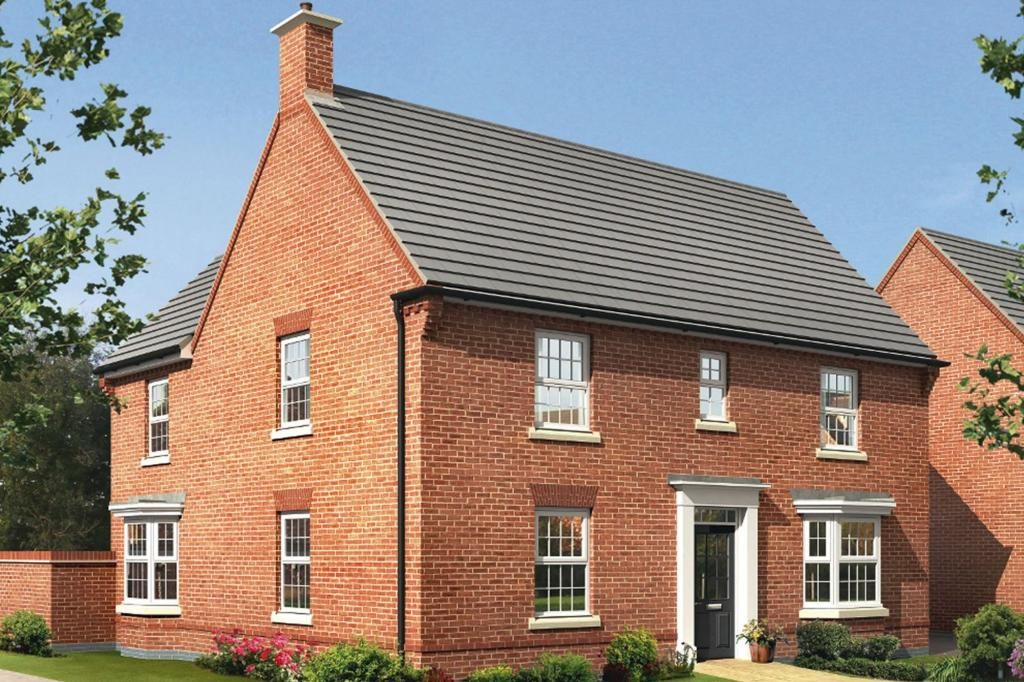 4 bedroom detached house for sale in smisby road ashby de for Ashby homes