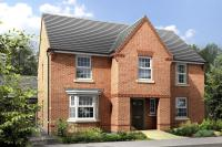 4 bed new home for sale in Britannia Road, Burbage...