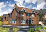 4 bedroom new property in London Road, Hinckley...