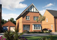 4 bed new home for sale in London Road, Hinckley...