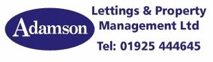 Adamson Lettings & Property Management Ltd , Warringtonbranch details