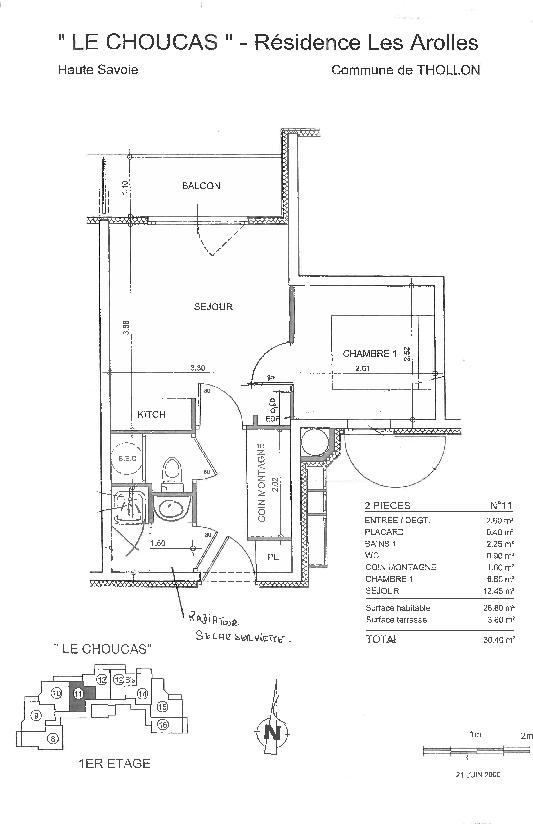 Floorplan & Data