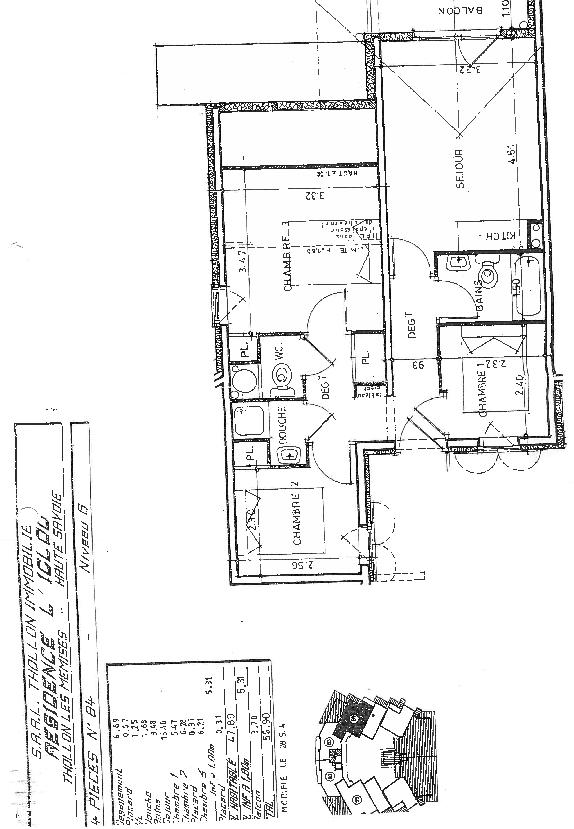 Floor Plan & Data
