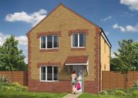 3 bed new development for sale in Moorland Avenue...