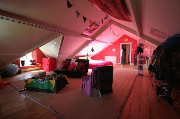 Second Floor Bed-...