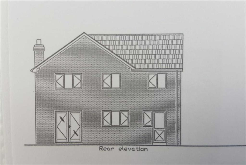 PLOT 3 REAR ELEVATIO