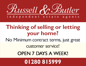Get brand editions for Russell & Butler, Bucks, South Northants & North Oxon,