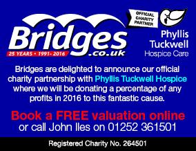 Get brand editions for Bridges Estate Agents, Aldershot