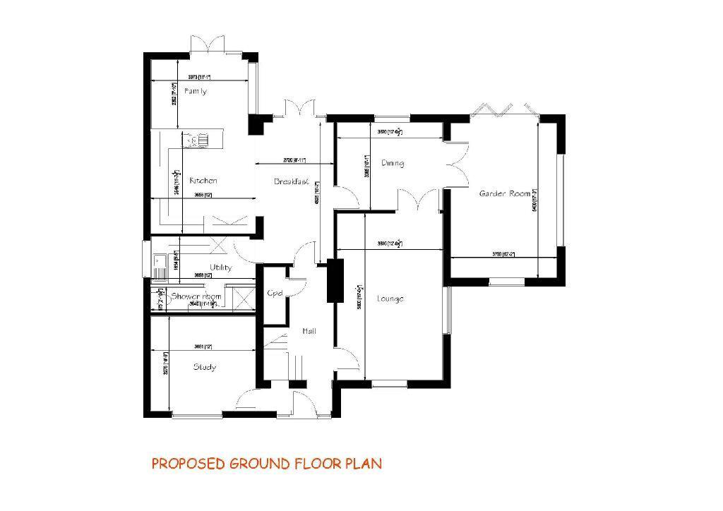 Proposed Ground Floo