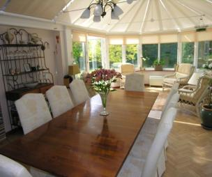 Conservatory dining room design ideas photos for Conservatory dining room decorating ideas
