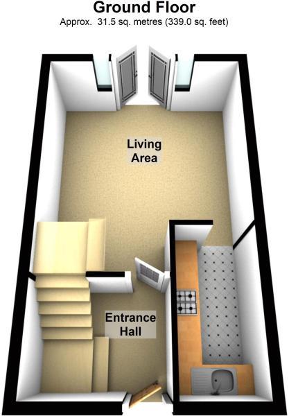 Ground floor 3D f...
