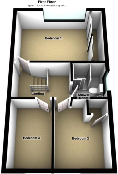 3D first floor pl...