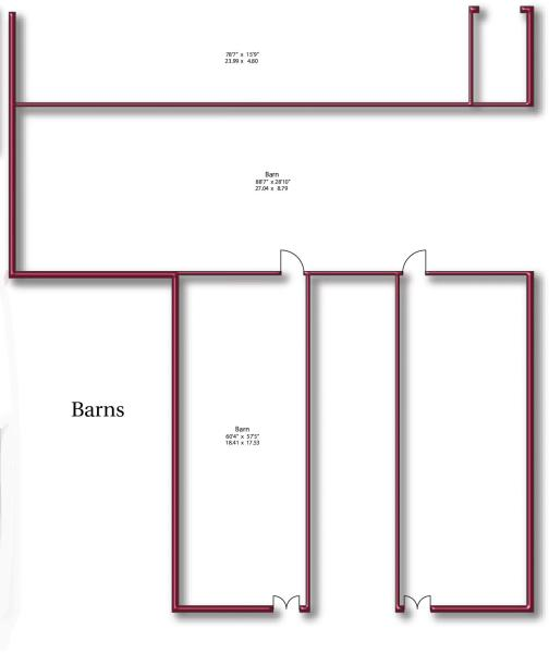 Floor Plan - Barn