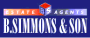 B Simmons & Son, Farnham Road, Slough logo