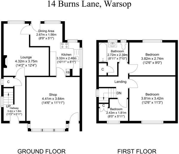 Floor Plans - 14 Bur