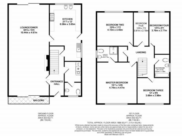 Detached House Floor Plan Home Design And Style