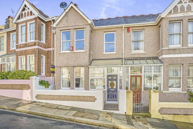 3 bedroom terraced house for sale in holland road 3 bedroom houses for sale in plymouth