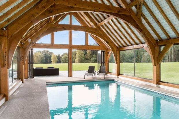 Indoor pool wi...