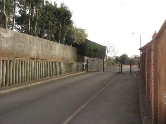 Gated area