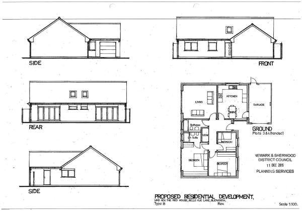 Plot 3 & 4 Floorplan