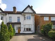 semi detached property in Oakhill Road, Sutton