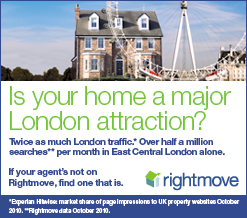 Is your London property on Rightmove?
